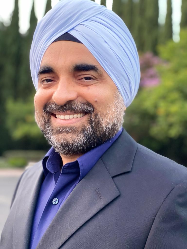 photo of Major Singh, 2021 election candidate for Governor of California